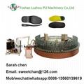 Low pressure foam machine pu shoe making machinery  5
