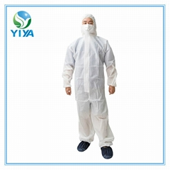 SMS coverall features durable and strong