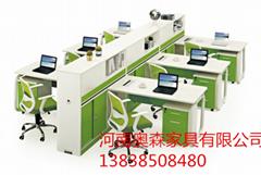 供應鄭州寫字樓電腦桌椅定製採用環保板材