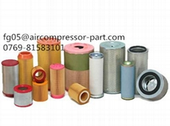 air filter compress industrial diesel air filter cartridge compressor spare part