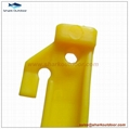 """High quality colorful endurable plastic tent peg for outdoor camping 9"""" 3"""