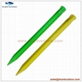 """PP or ABS plastic tent stake for camping accessory 12"""" 2"""