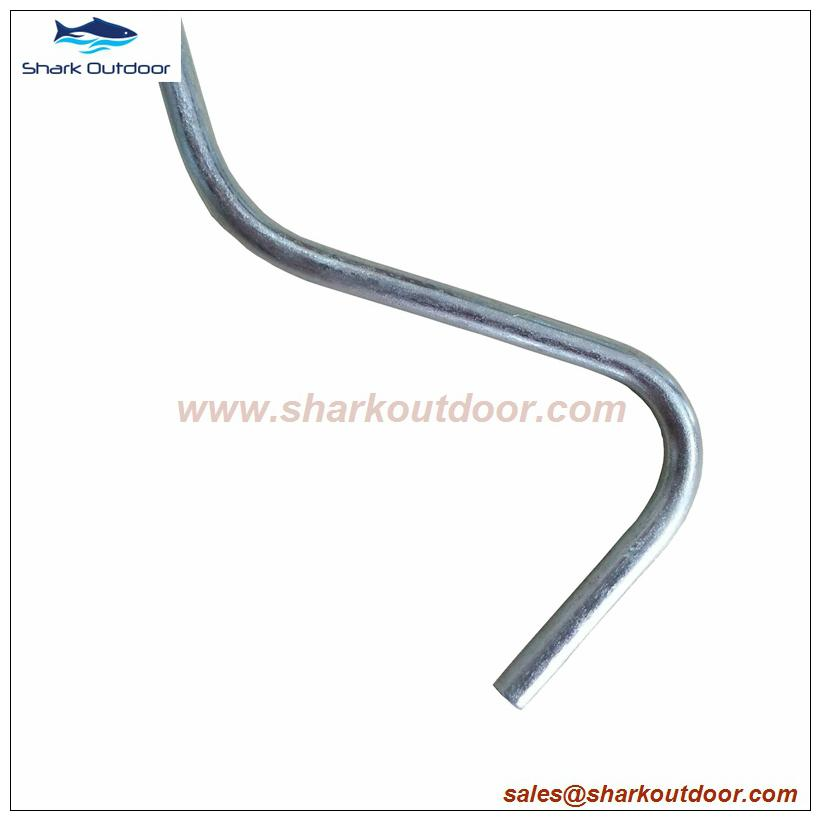 Good quality tent peg puller extractor with plastic handle 3