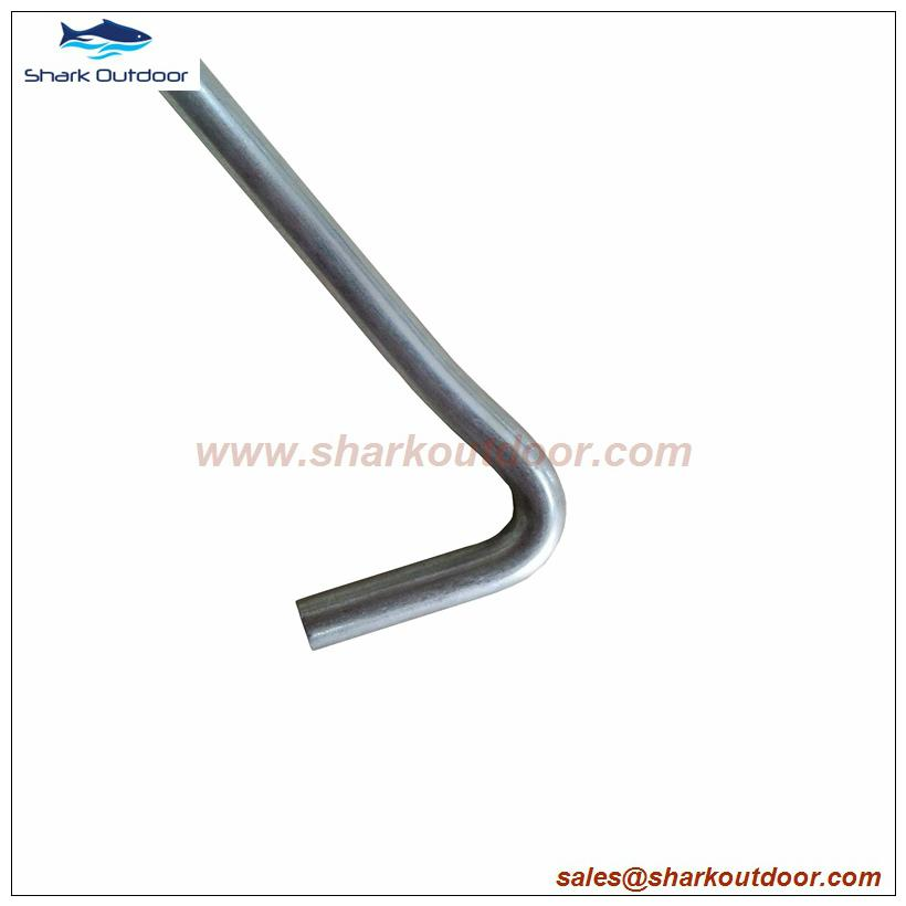 Hot sale tent peg remover with plastic header 3