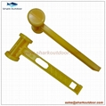 High quality ABS or PP plastic camping hammer with good price 2