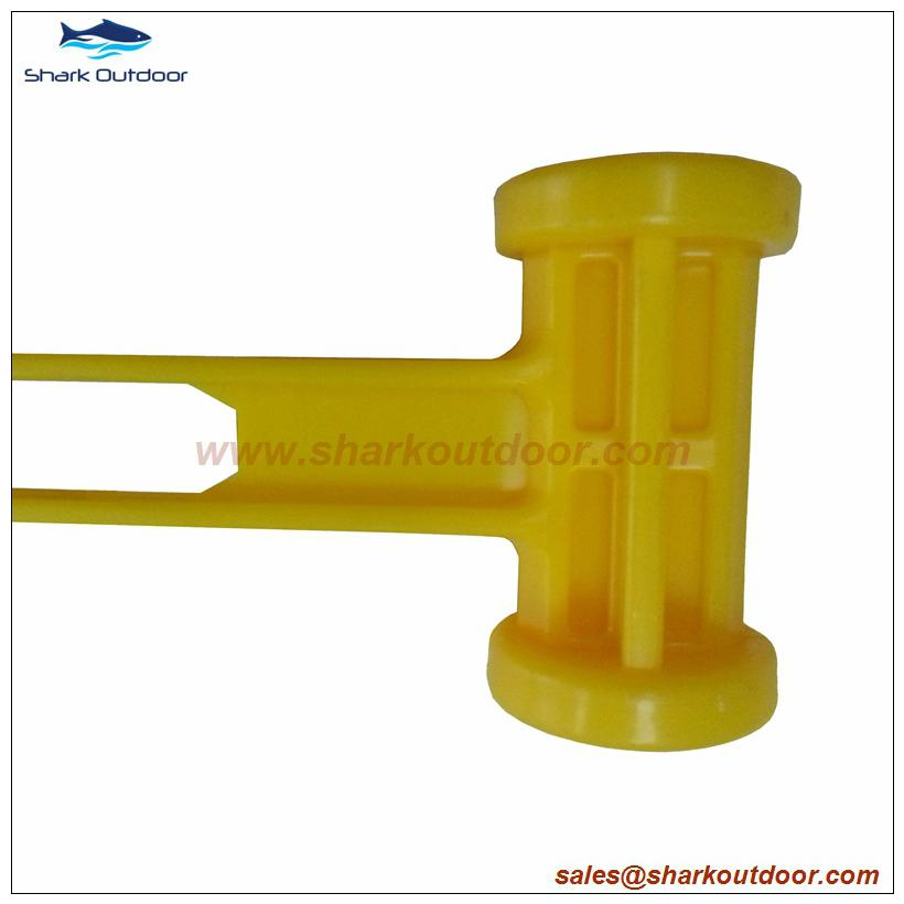 High quality ABS or PP plastic camping hammer with good price 3