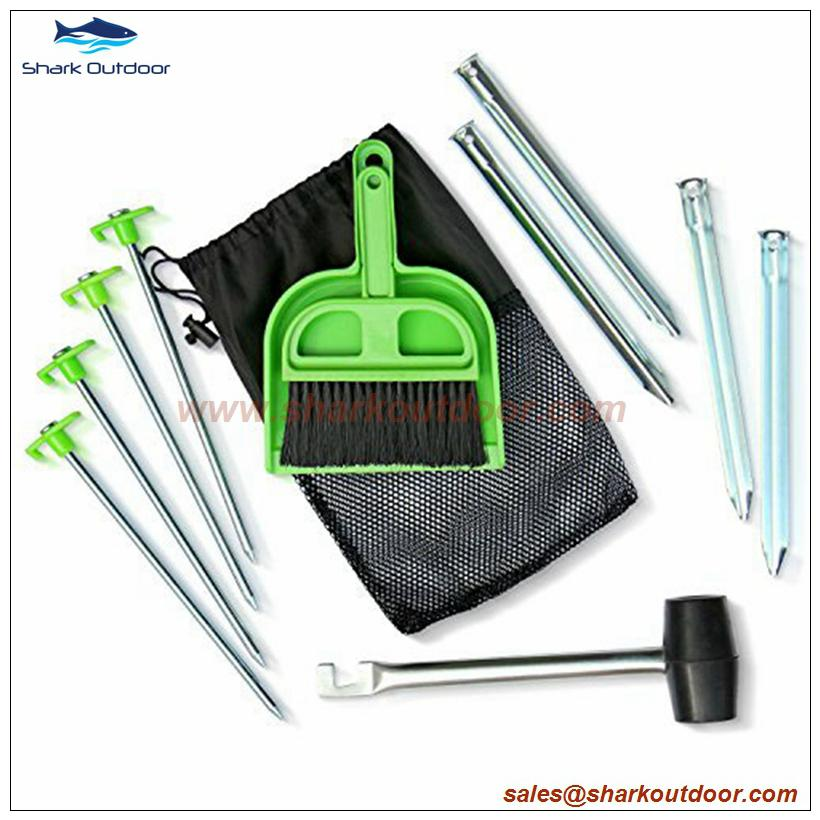 Hot sale tent accessory kit or tent accessory set for outdoor camping 5