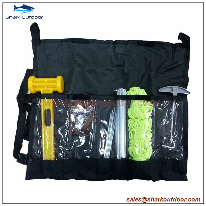 Camping tent accessory set with 24 pieces 1