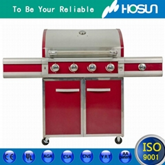 HoSun facory supply Outdoor stainless steel  Commercial  professional gas bbq gr