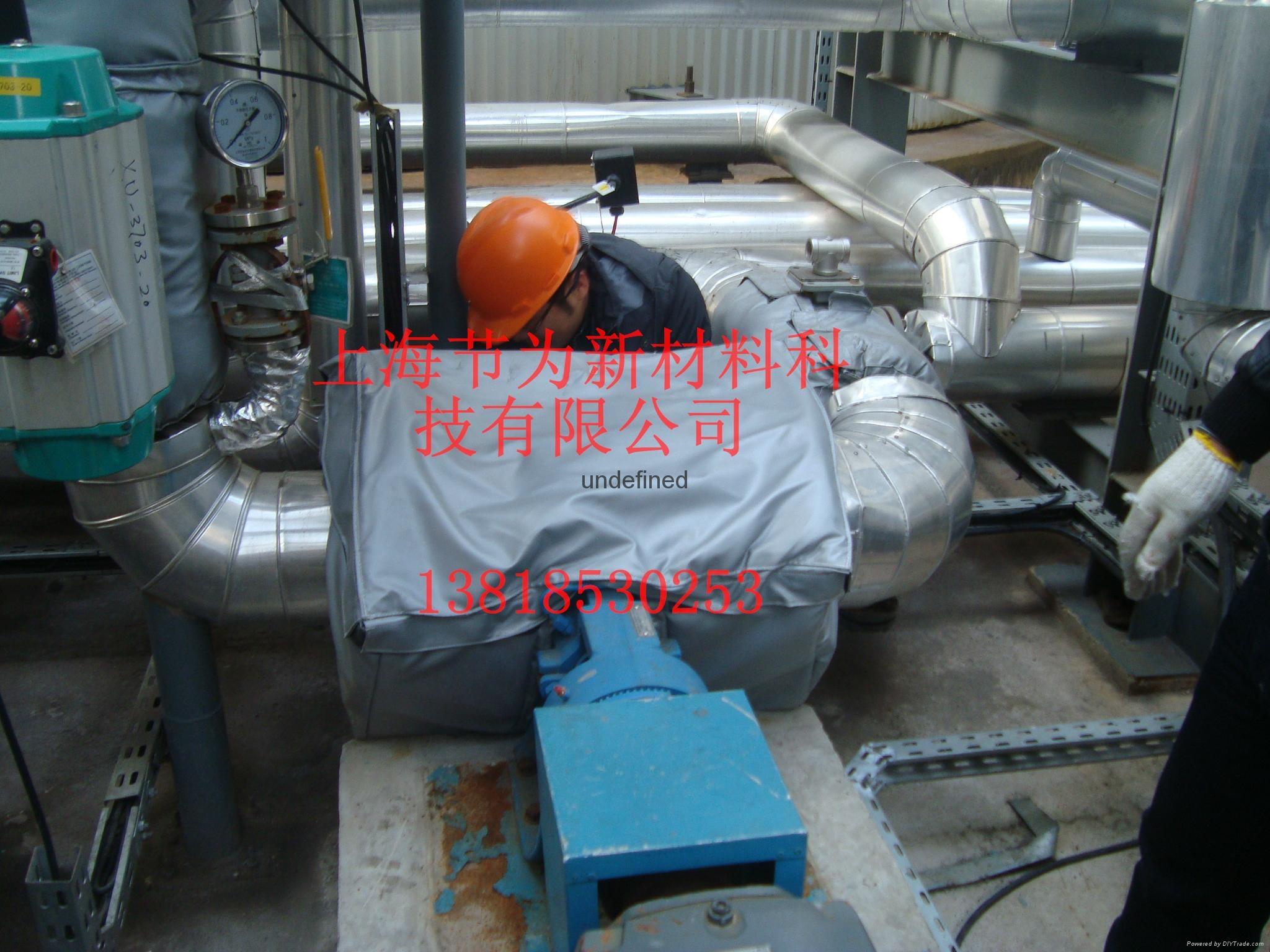 可拆卸齿轮泵保温套 4