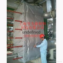 供暖站可拆卸换热器保温套节能20%以上