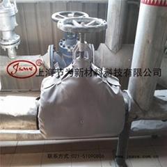 廣州新沙項目耐高溫閥門保溫套