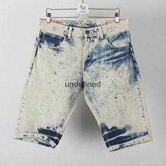 Acid wash man short, boy short  Bermuda shorts