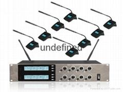 博聆智能無紙化會議一拖八無線會議系統