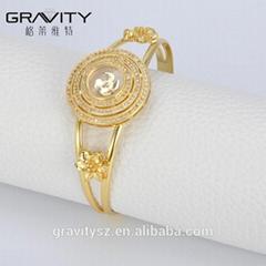 SHZH-014 Gravity 18k Gold Jewelry Fashion Women Bangles And Bracelets