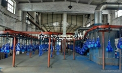 Flanged end Cast iron gate valve