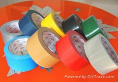 adhesive cloth tape duct tape black matt cloth tape