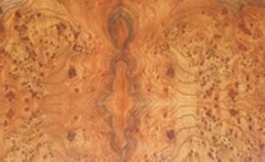 榆木树榴天然染色木皮