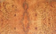 榆木樹榴天然染色木皮