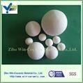 High alumina inert ceramic ball 4