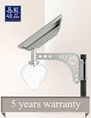 Integrated Solar Power Energy LED Street Garden Light Outdoor All In One 10W
