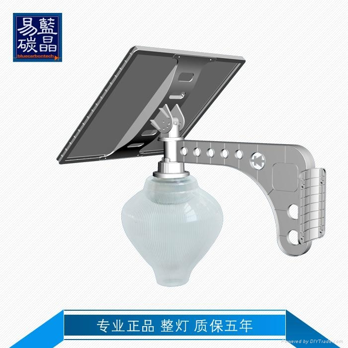 Integrated Solar Power Energy LED Street Light All In One Outdoor 18W	 1