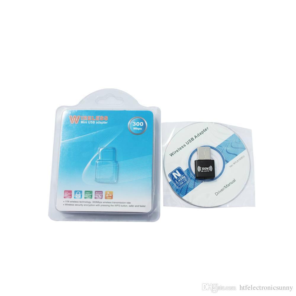 Mini 300M USB2.0 RTL8192EU chipset WiFi Wireless Network Card Adapter 802.n g b  5
