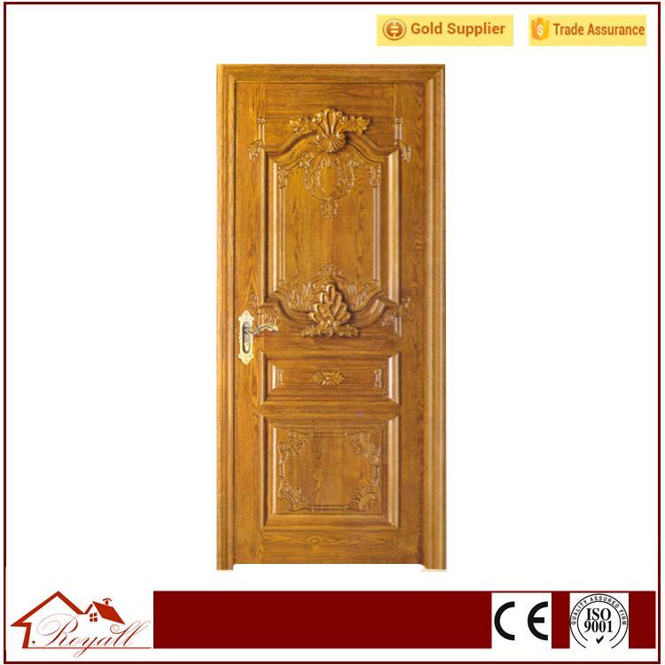 Solid Wood Handcraft Curved Wooden Door 1 ...