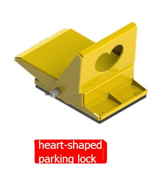 heart-shaped parking lock 1