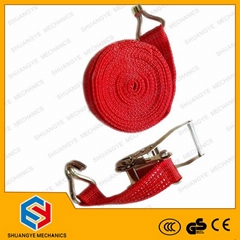 Cargo Lashing Belt/ Ratchet Slackline/ Ratchet Tie Down