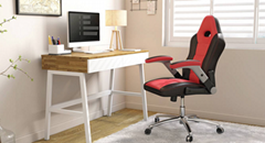 Home Computer Gaming Ergonomic Office Gamer Leather rgb Home Gaming Cheap Chair