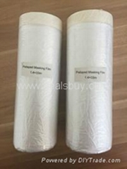 China manufacturer price pretaped masking film