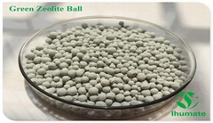 Natural zeolite ball CEC 170mmog/L for water clean