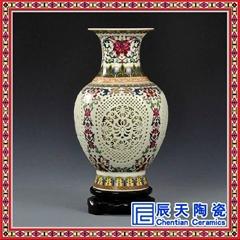 廠家清倉景德鎮手繪陶瓷花瓶