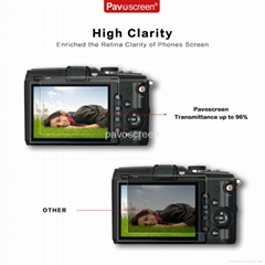 AGC Tempered Glass High Clear Screen Protector for Camera