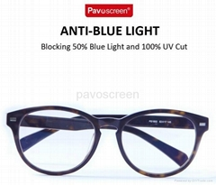 Pavoscreen Anti Radiation  Block Blue Light Anti UV Rays Reading Glasses