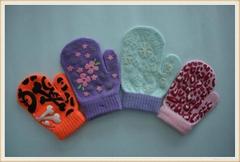 gripper print glove