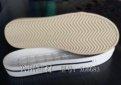 平跟橡膠底 XG6683