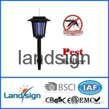 solar powered mosquito killer bug zapper light