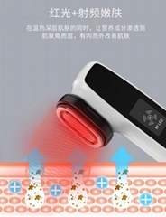 LED光子嫩肤仪EMS微电脸部震动按摩面部瘦脸RF射频美容仪工厂直销