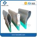 Screen printing aluminum handle