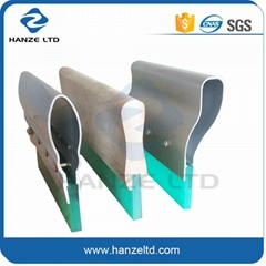 Screen printing aluminum handle