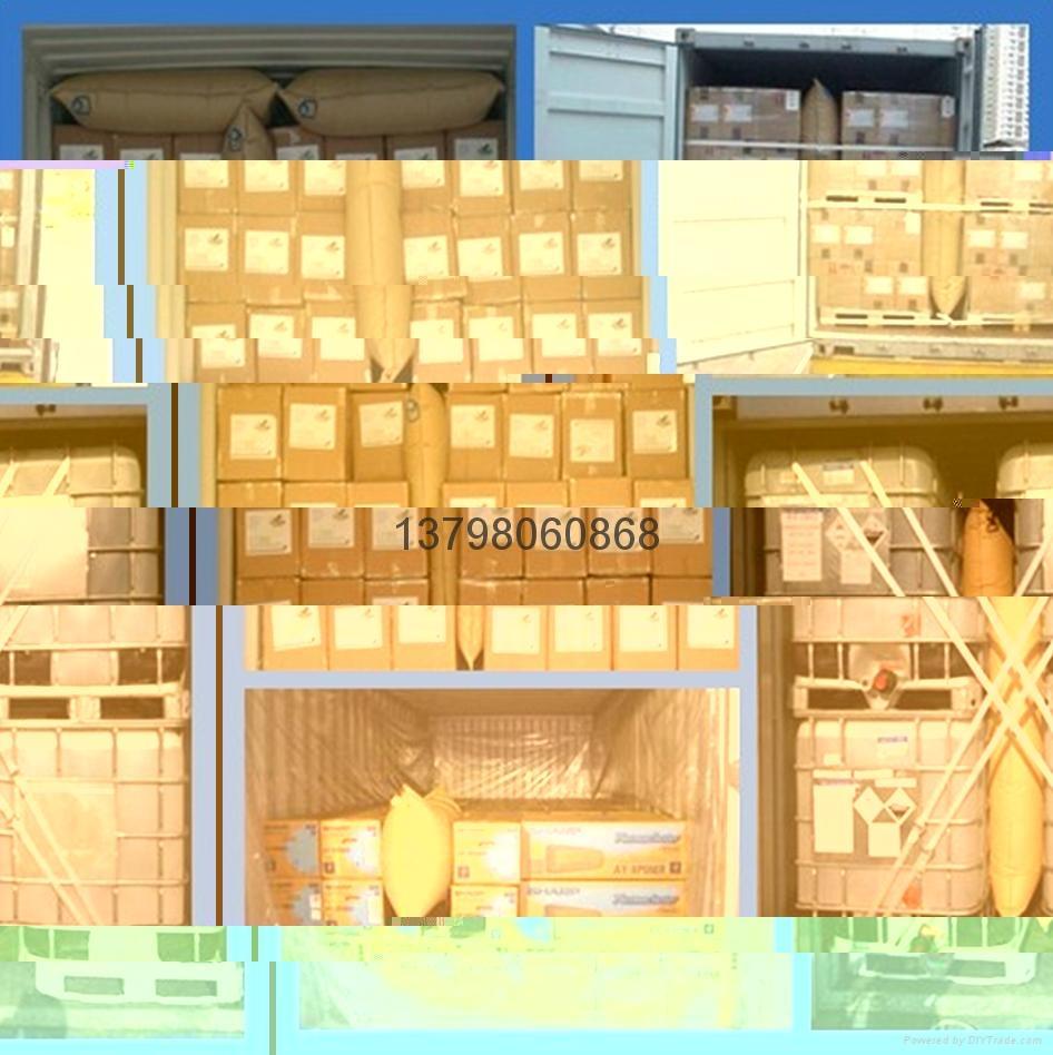 集装箱装柜专用尾部空位填充气袋 4
