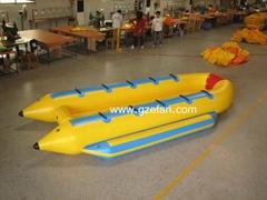 Inflatable boat, banana boat, U shape,water sports