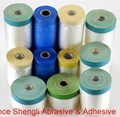 Pre-taped Masking Film With 70mesh cloth masking tape 5