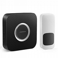 Hot sale wireless digital doorbell with LED flash light