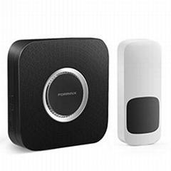 Hot sale wireless digital doorbell with LED flash light