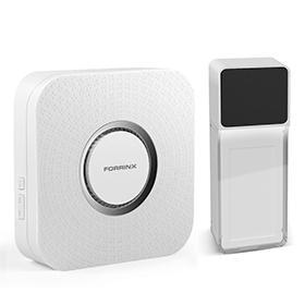 Hot sale wireless digital doorbell with LED flash light 3