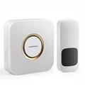 Hot sale wireless digital doorbell with LED flash light 2