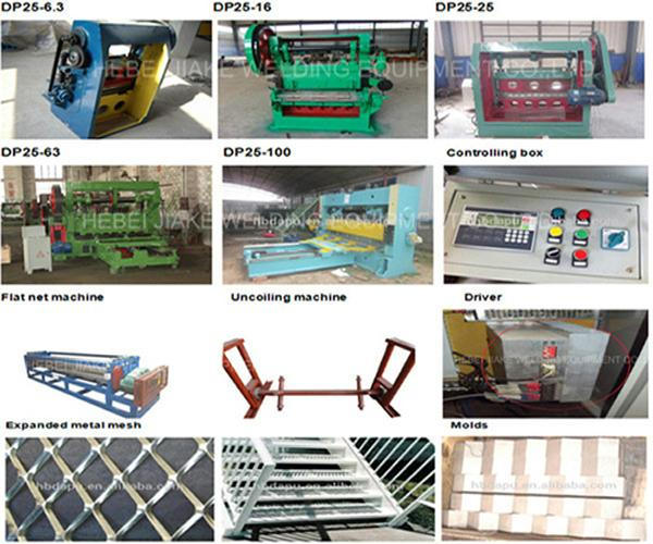 Expanded perforated metal mesh machine 3